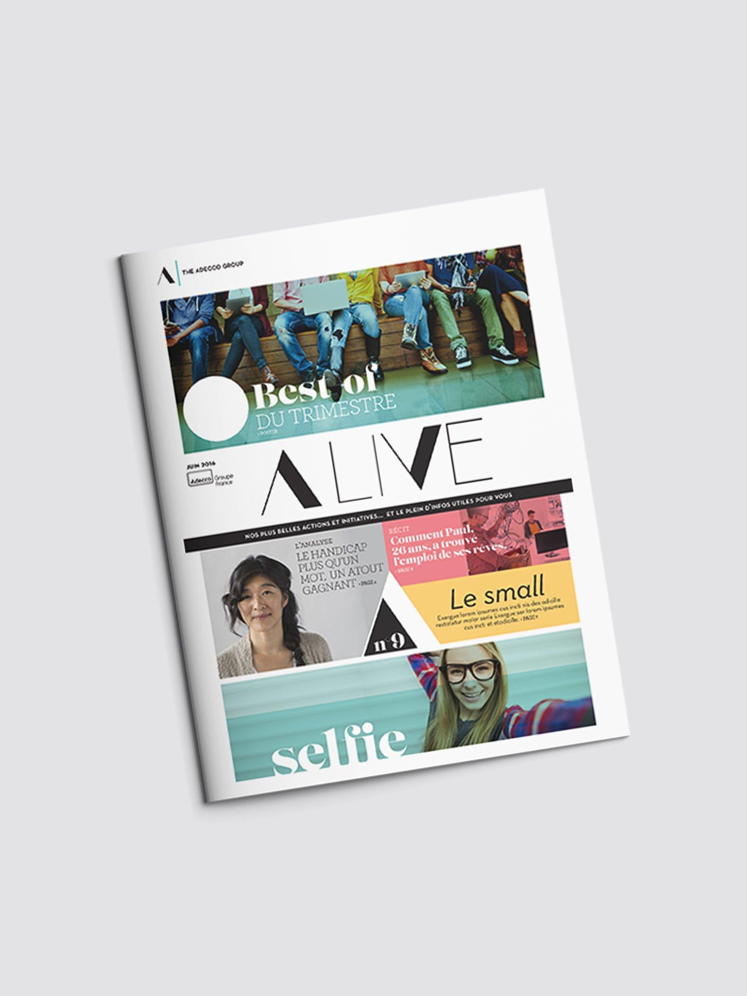 Aurelie Bert, Design graphisme, Presse, Psychologie Magazine