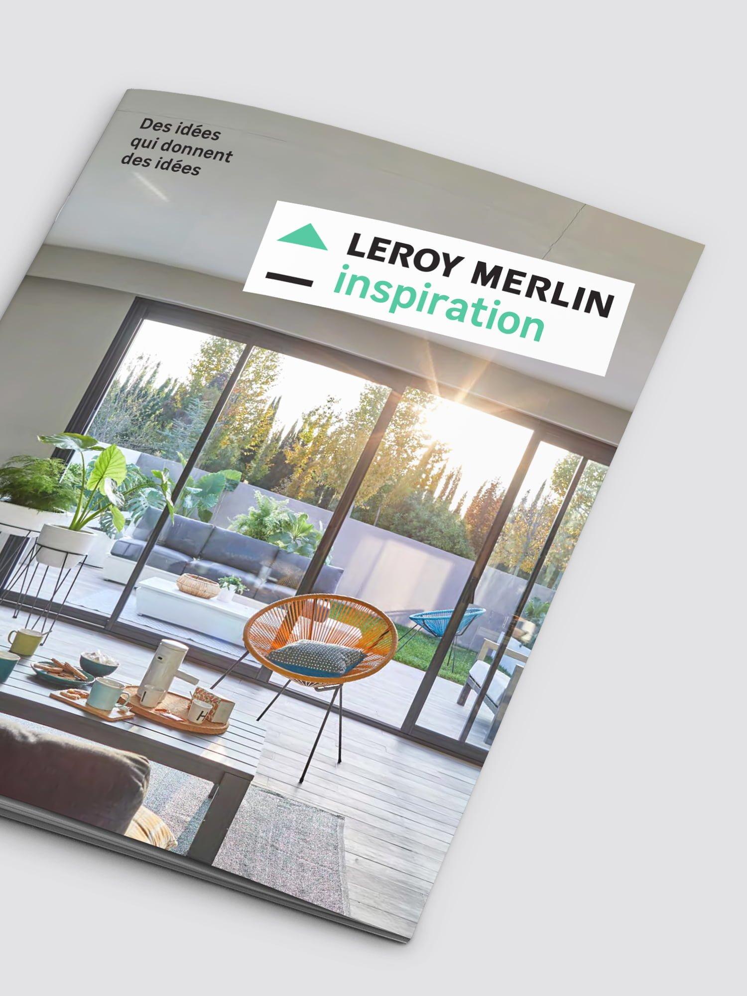 Leroy Merlin,aurelie bert,guide,design graphique,communication graphique,agence ici barbes,magazine
