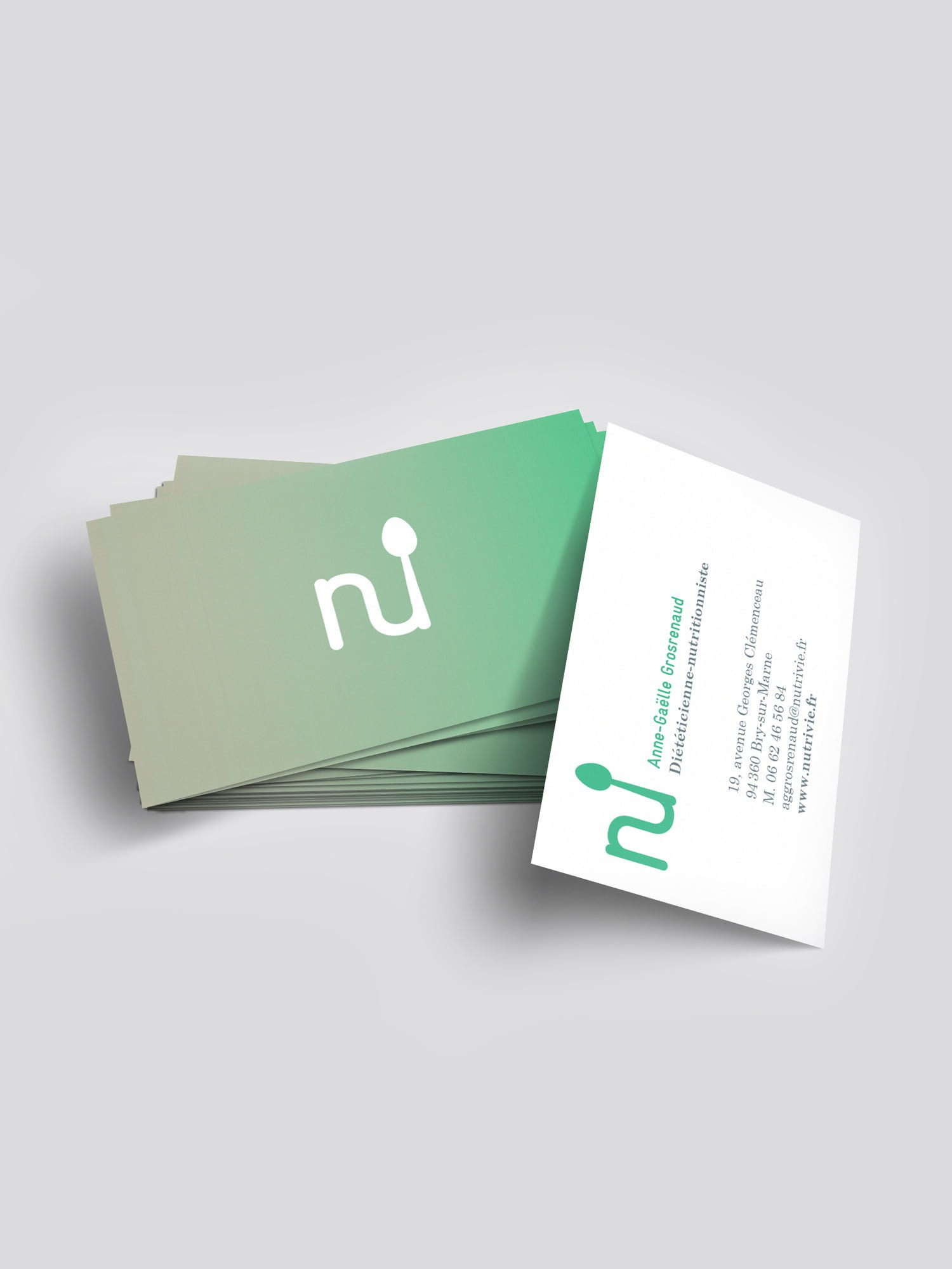 nutrivie,aurelie bert,identité visuelle,logo,creation,graphisme
